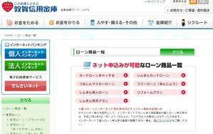 敦賀信用金庫カードローン