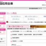 西中国信用金庫カードローンでお金を借りたい!